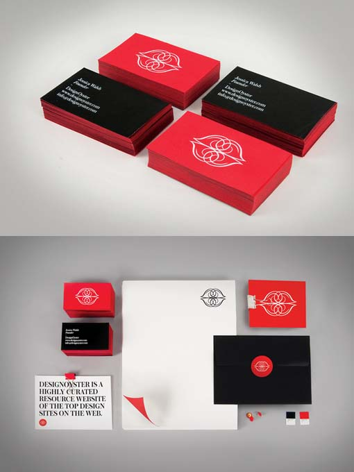 Talking business cards and emails faye louise hughes design oyster business cards colourmoves