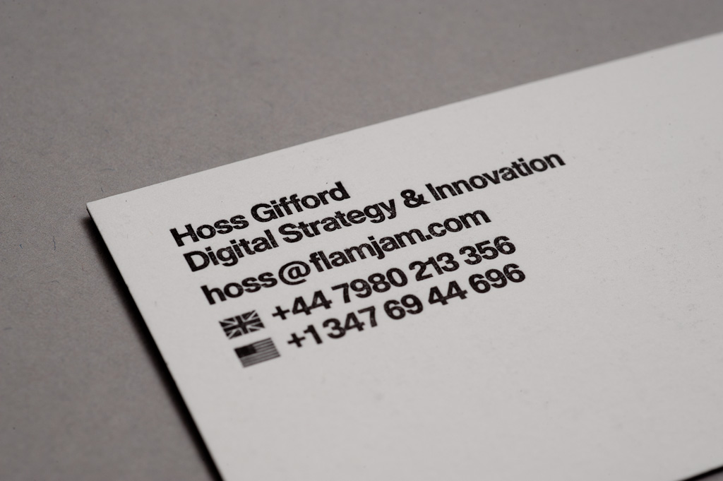Talking business cards and emails faye louise hughes for Business card title